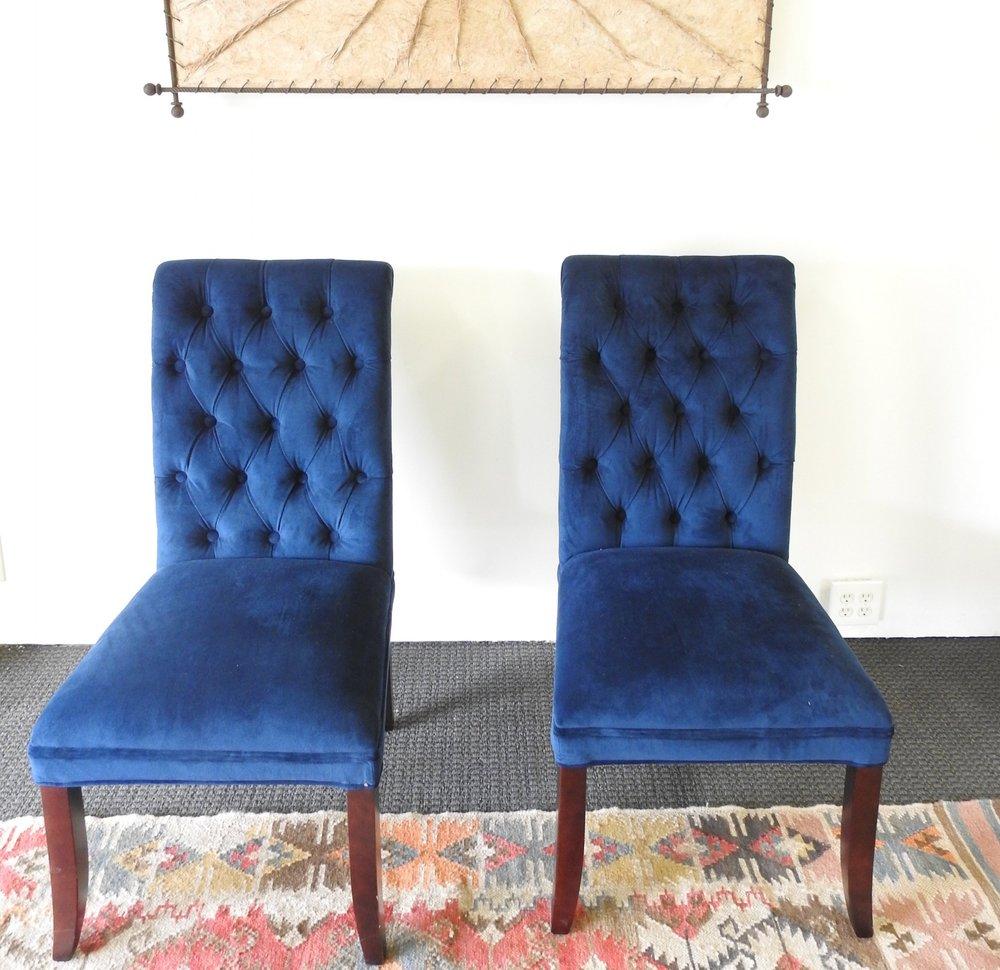 Something Blue Captain Chairs - Velvet (2)