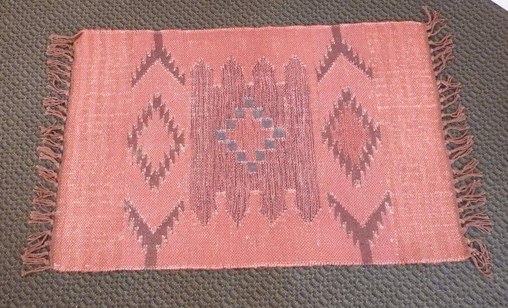 Small Printed Rug - (1)