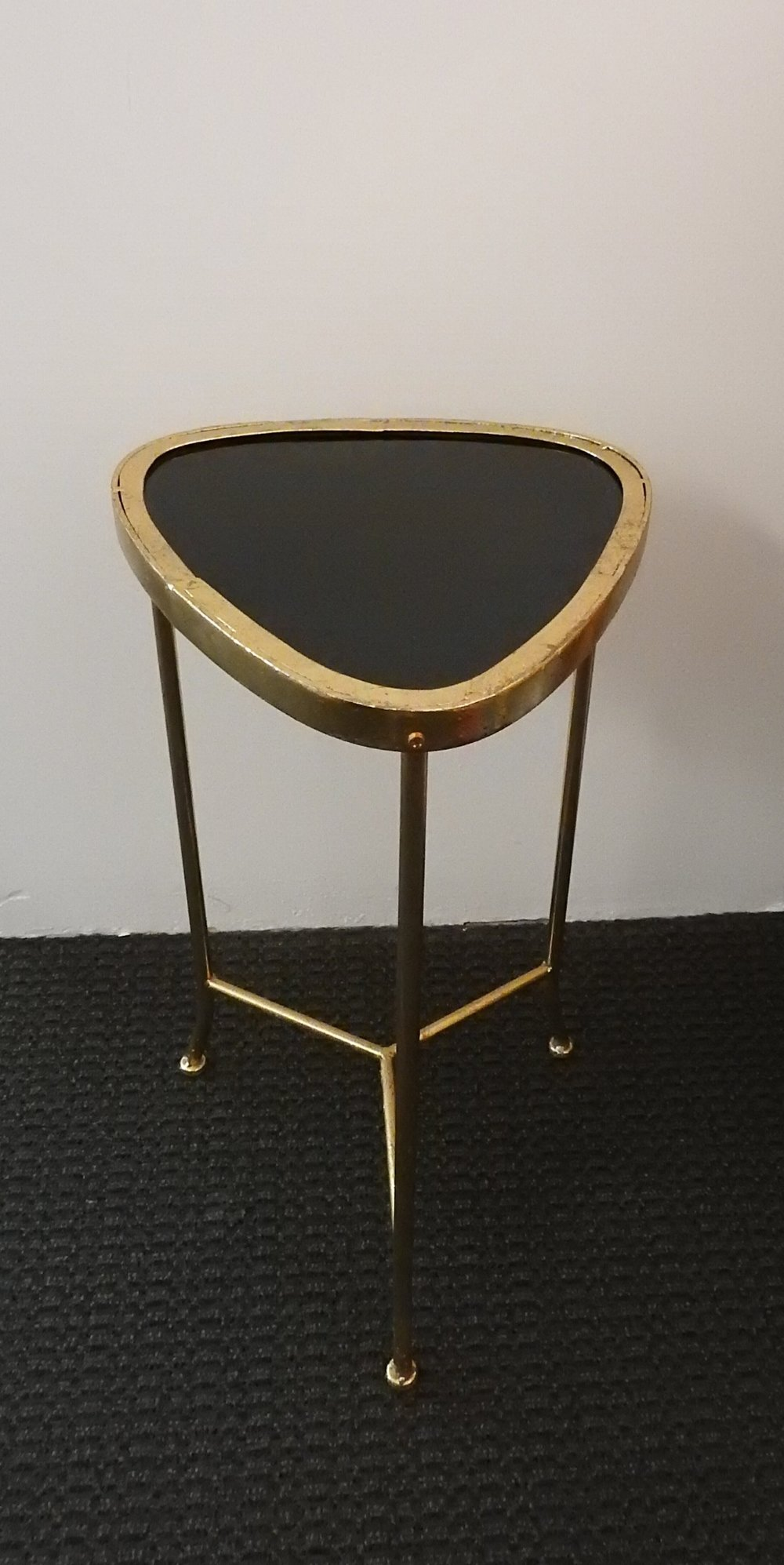 Black + Gold Geometric Table - (1)