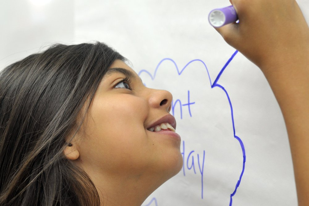 SOCIAL-EMOTIONAL LEARNING   We work with school districts, community-based organizations, and statewide leaders to institute practices and policies that foster social-emotional learning opportunities for children and youth through their school day, after school, and summer programming.