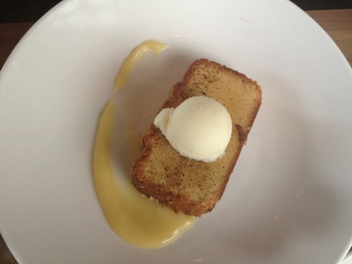 Lemon Pound Cake - The Optimist