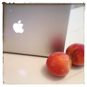 apple & peaches