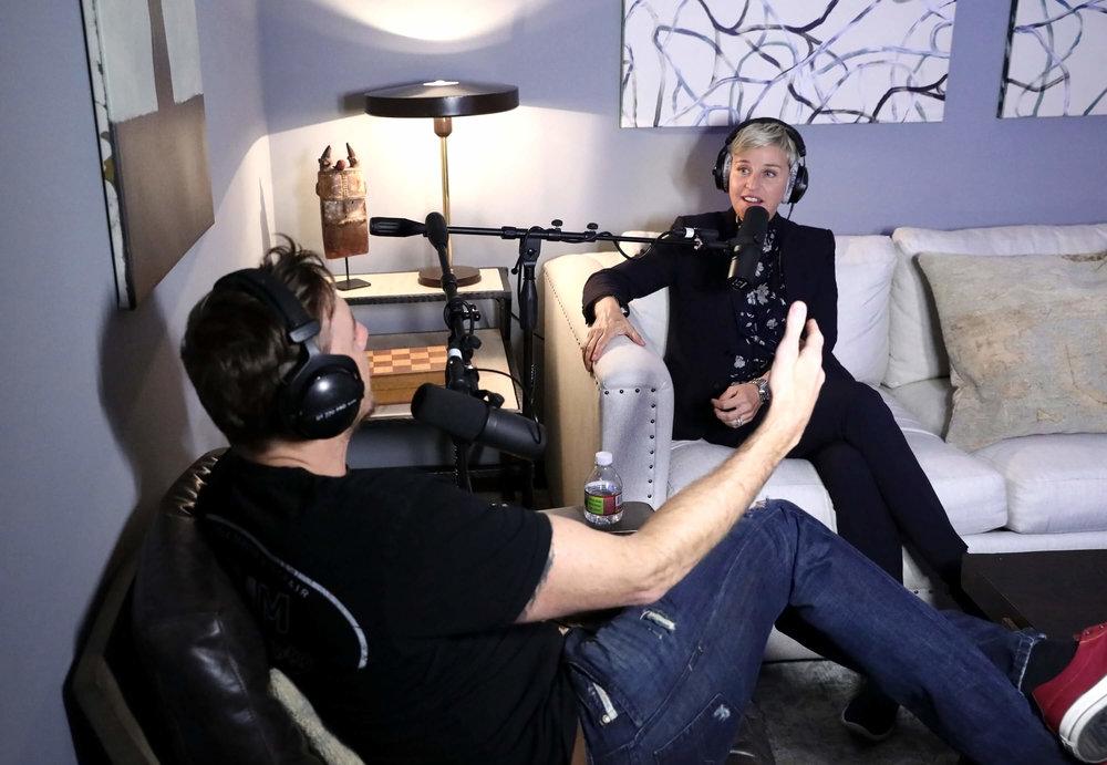 Ellen Degeneres Armchair Expert