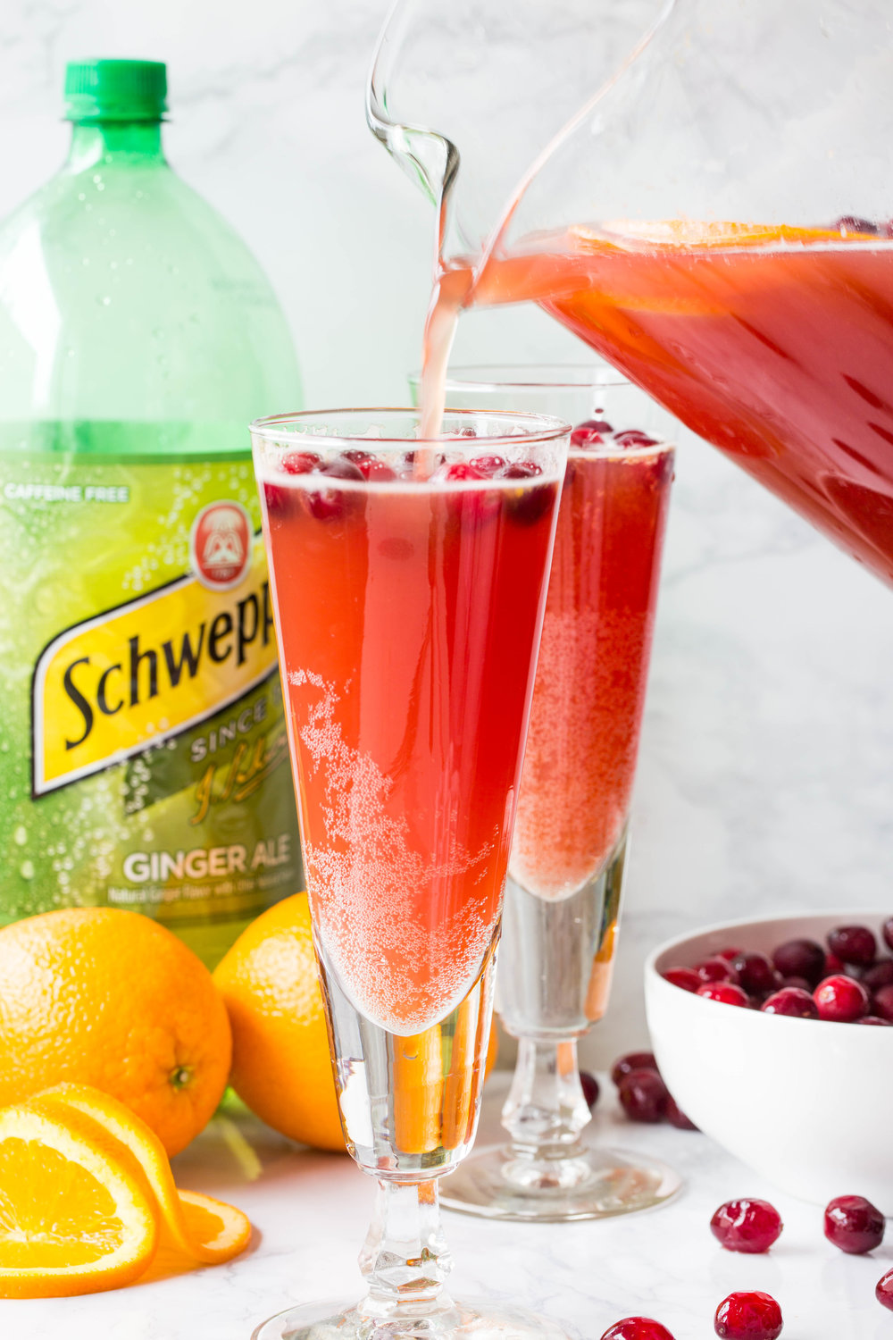 Orange Cranberry Spritzer