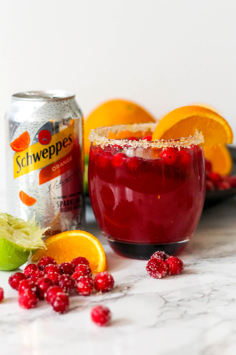 Orange Cranberry Margarita