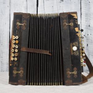 Antique accordion - $88