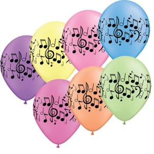 Music note balloon  - $21.99