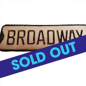 Broadway vintage sign  - $28.99