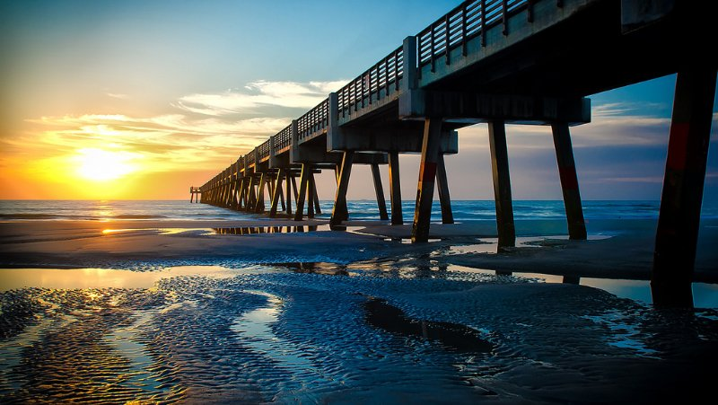 Jacksonville Beach Pier | Jacksonville Beach, Florida