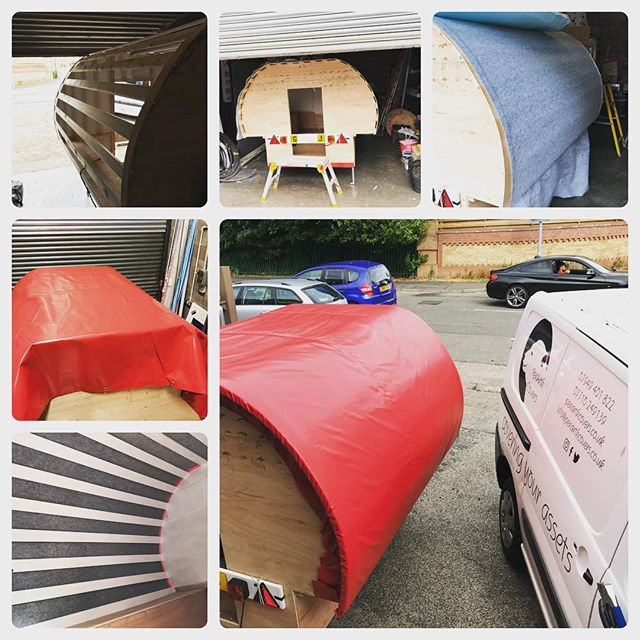 #gypsycaravan#homebuilt#madeinwales#bespokecanvas#coveringyourassets