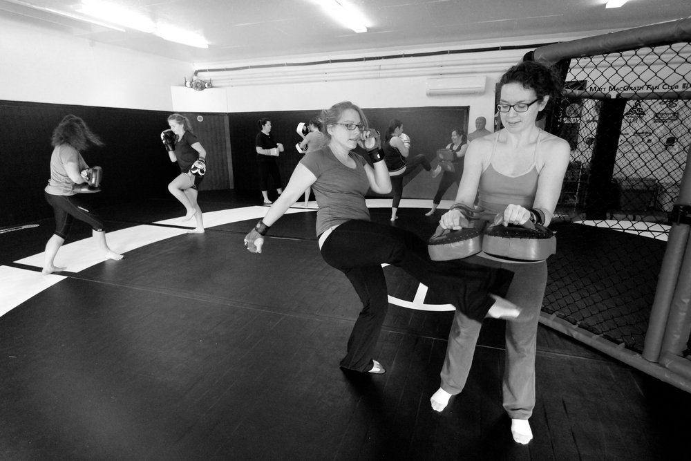 Cardio Kickboxing for Women - Lose weight, have fun, and get fit while kicking butt