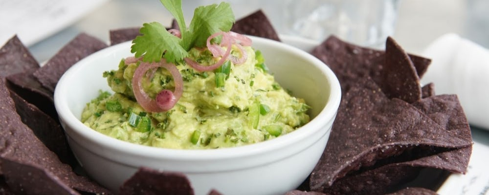 Seamore's giving all Hilton Guests a free Guac & Chips with purchase!