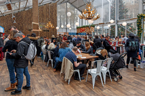 Columbus Circle Holiday Market — Urbanspace