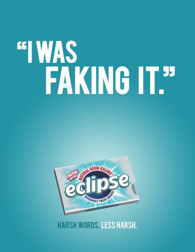 Eclipse Gum Print