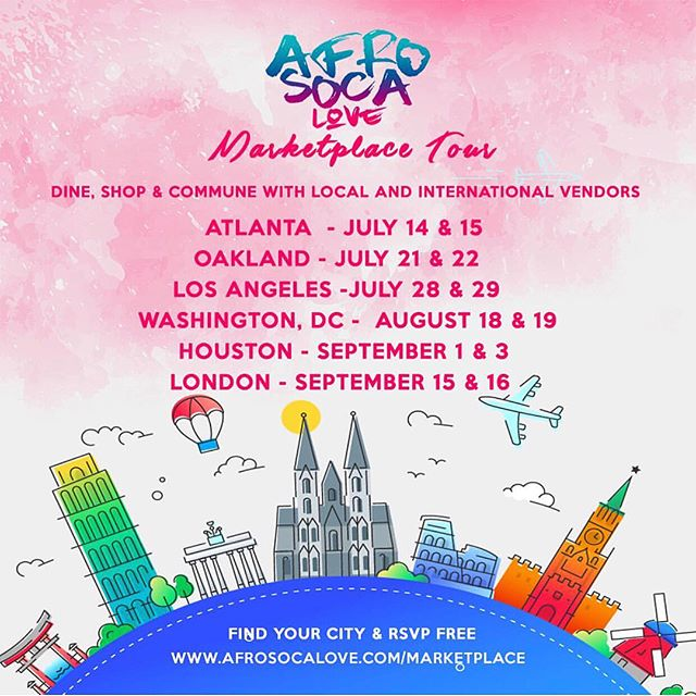 Thanks @afrosocalove for putting together this amazing tour ❤️ Catch us and your fav MD pieces in the following cities, we want to meet you!! For more info and more cities feel free to DM or email us ❤️