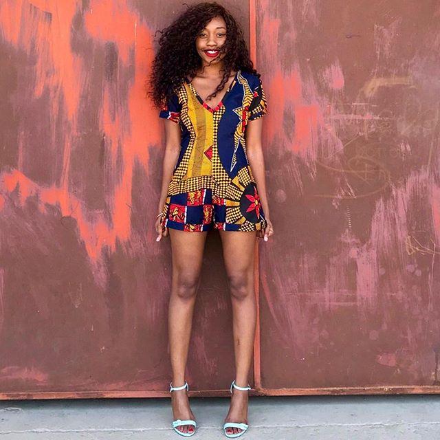 Happy Saturday ❤️ MD Essentials VI Collection  The Look - 'The Mariya Romper' Mangishidoll - @thatkasagirl  Shop The Collection  www.mangishidoll.co - (Link In Bio) www.afrikrea.com - @afrikrea MD Showroom (Lusaka) - DM for Details