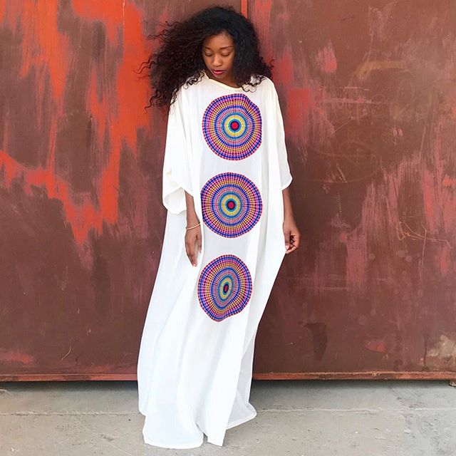 The White Version ❤️ Our 3 Day 20% Off Labour Day Sale is Live!!! MD Essentials VI Collection  The Look - 'The Ngoma Kaftan (White)' Mangishidoll - @thatkasagirl  Shop The Collection  www.mangishidoll.co - (Link In Bio) www.afrikrea.com - @afrikrea MD Showroom (Lusaka) - DM for Details