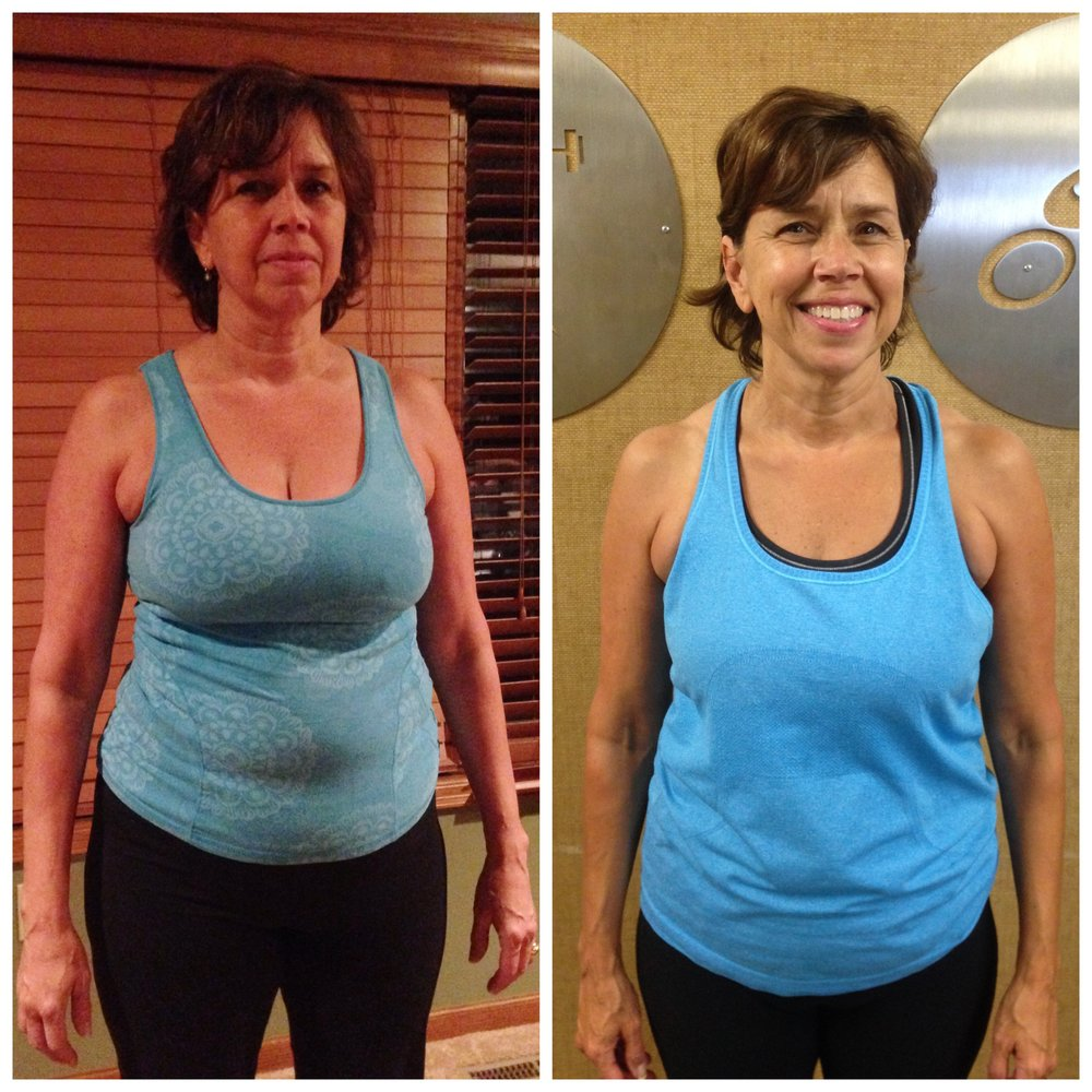 Lisa transformation Jordan Flom Fitness