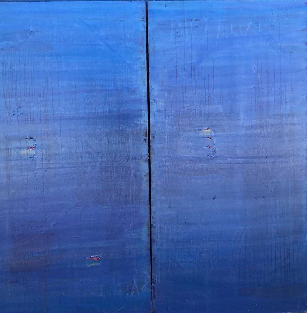 "Lost at Sea - 72"" x 72"""