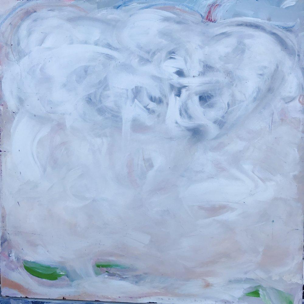 "Storm Clouds - 36"" x 36"""