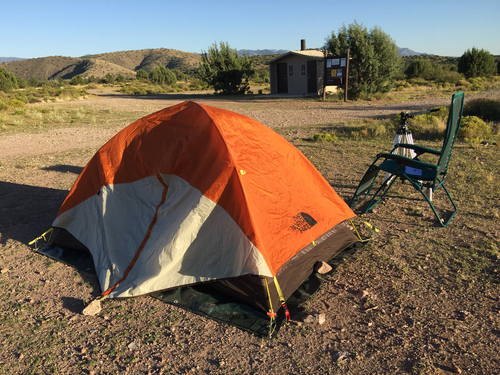 cosmic campground - An International Dark Sky Sanctuary in the middle of nowhere, New Mexico. A great place to test your solo camping skills.