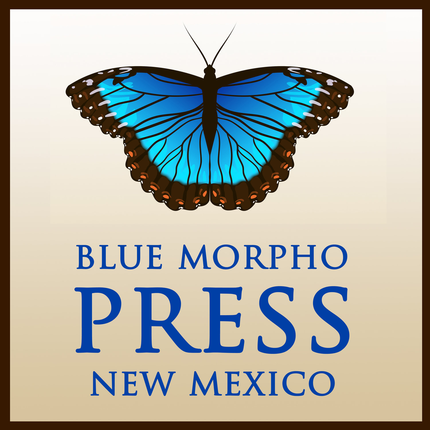 blue morpho press new mexico