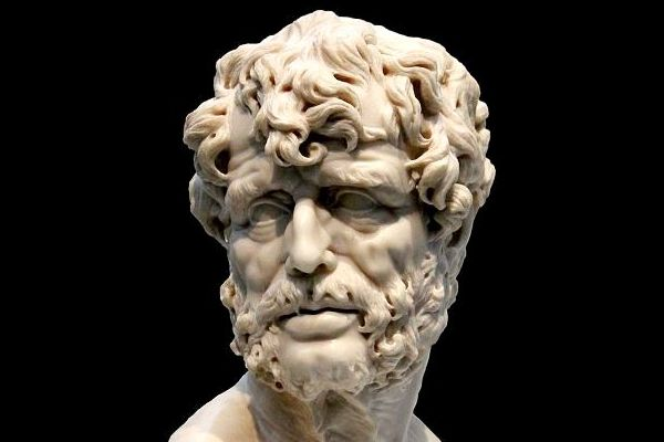 seneca - 4 BCE – 65 CE, born in Córdoba, Spain, died in Rome. Stoic philosopher, Roman statesman and dramatist. Expressed his disdain for comb-overs, the first century CE's version of air-guitar, pointless enthusiasm for useless knowledge, and people who maintain giant collections of books to make themselves look smart. He hated pretensions. He believed that solitude and being part of a group of people should be mingled and varied; solitude being the cure for our dislike of a crowd and being with a crowd a cure for boredom. Perhaps the World's Most Interesting (Stoic) Man.All the greatest blessings create anxiety.