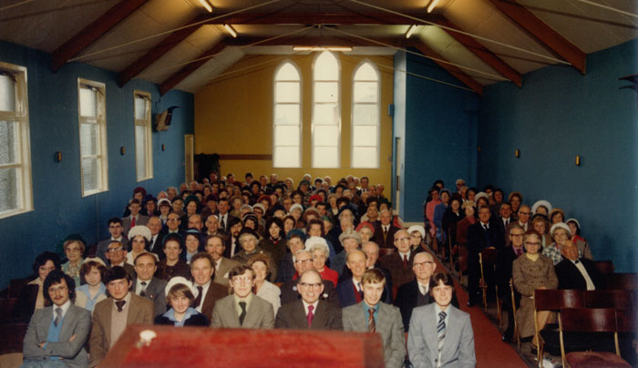 Opening of Redcar St. Building 1979
