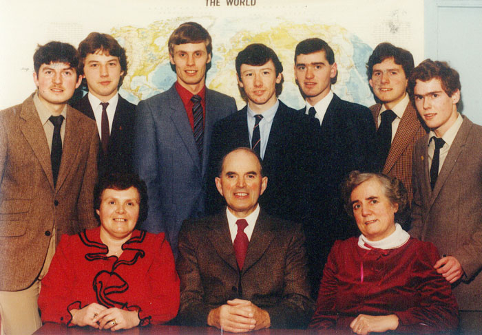 Staff picture in 1984