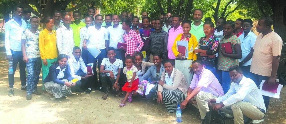 Trainees in Ethiopia