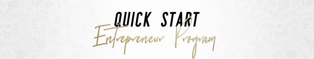 Quick Start Entrepreneur Program