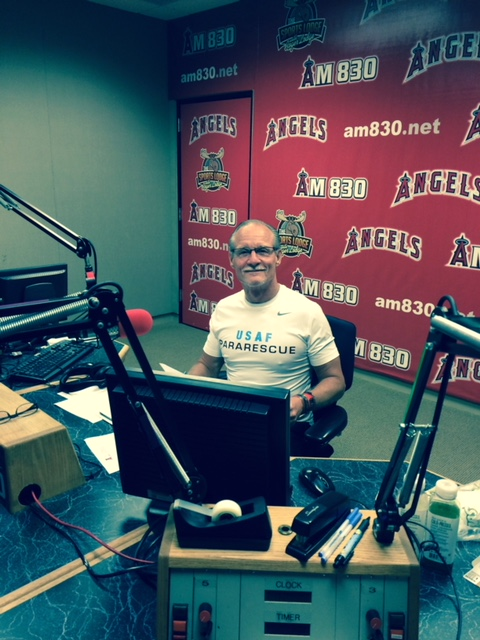 """Get in Shape and Get a Life"" live 1 hour Weekly Radio Program on Angels Baseball Radio"
