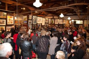 Up-2-Date Art Exhibition Opening Night