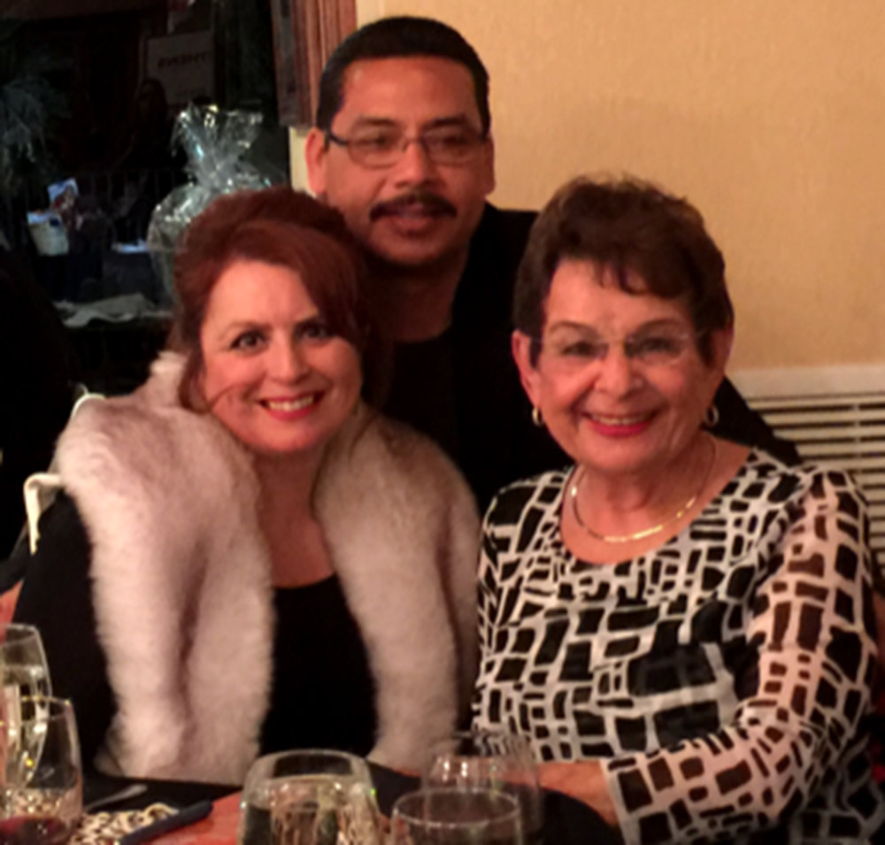 Henry and Theresa Robledo with long time friend Anita-Pulido at the Boys and Girls Club fundraiser event.