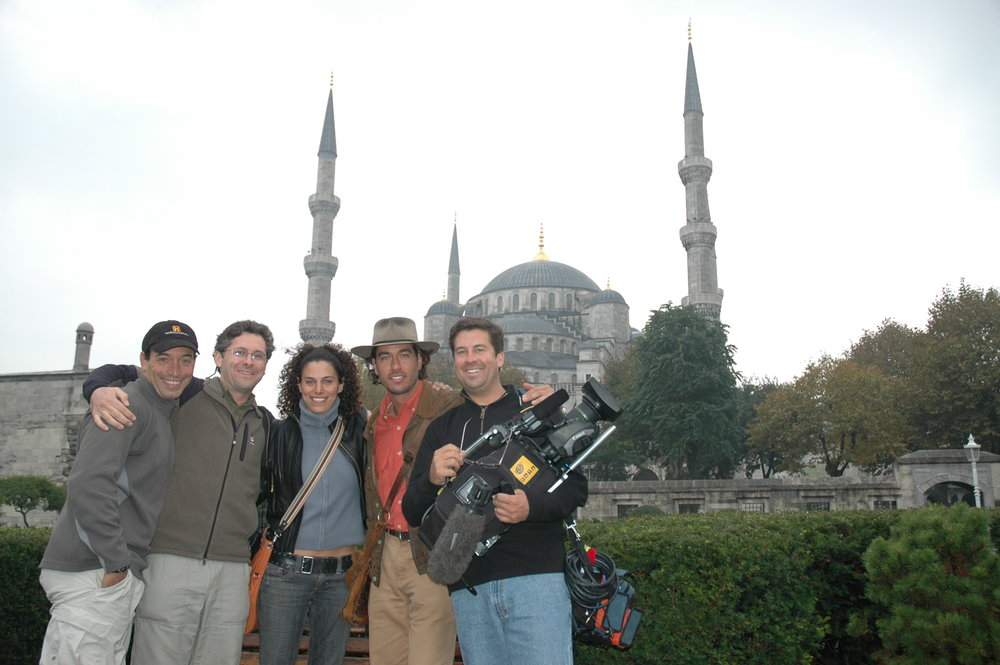 Istanbul, filming Digging for the Truth