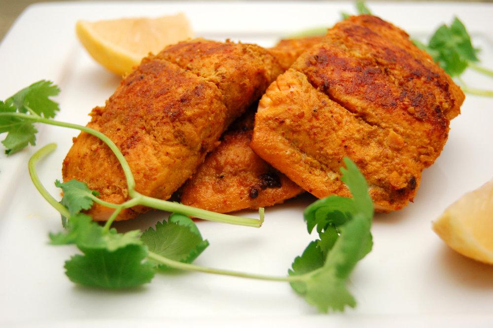 POISSON MADRAS MASALA - {MadrasMasala Arvinda's}Pour cette recette, n'importe quel poisson blanc conviendra très bien. Nous voussuggérons d'essayer un poisson durable.