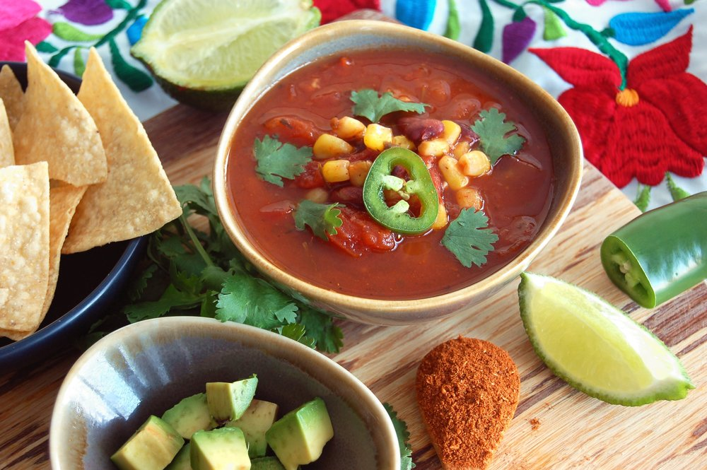 MEXICAN FIESTA SOUP - {Made with Arvinda's Fiesta Mexicana}