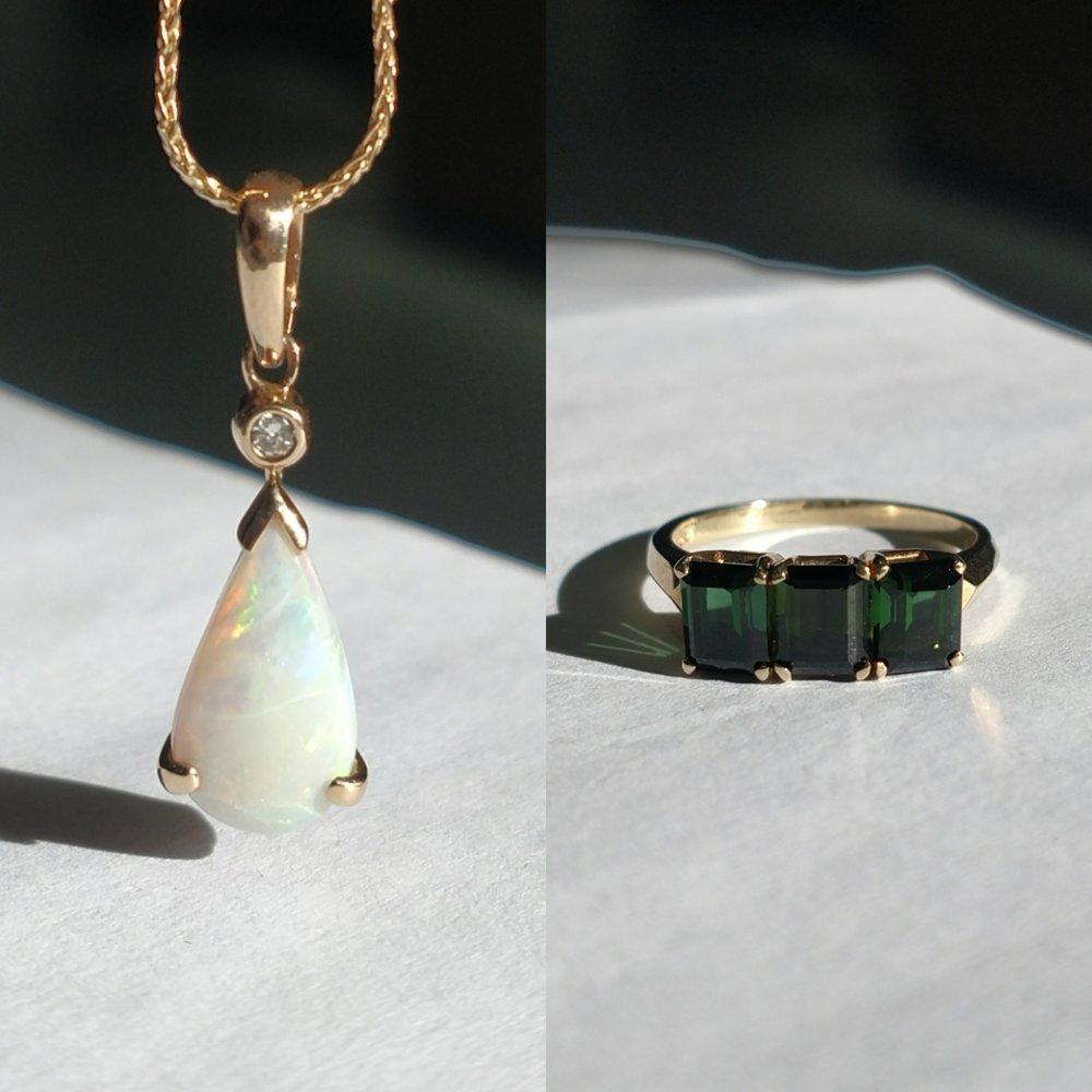 Opal Pendant & Tourmaline ring.jpg