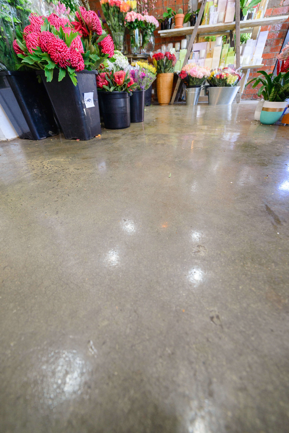 What is polished Concrete? - Polished concrete is a unique decorative finish which leaves the concrete exposed - resulting in a surface which is beautiful, reflective, durable and sustainable.This finish requires a combination of chemical, floor grinding and resin diamond techniques, and is a highly skilled and complex process.Our team are experts in selecting and executing the right process for your needs, resulting in a perfect finish every time.