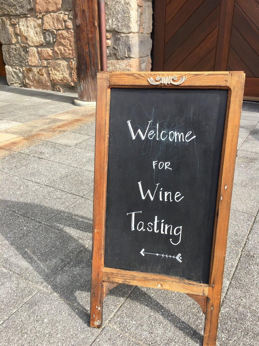 Wine tasting galore