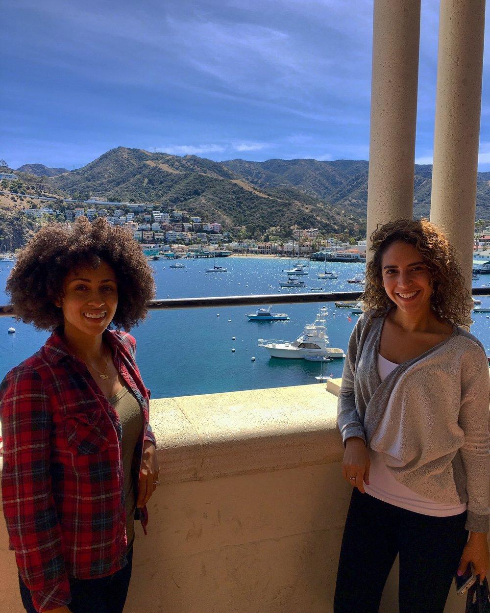 Catalina Casino balcony