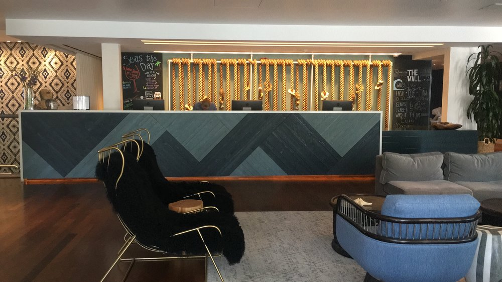 Shorebreak Hotel Lobby