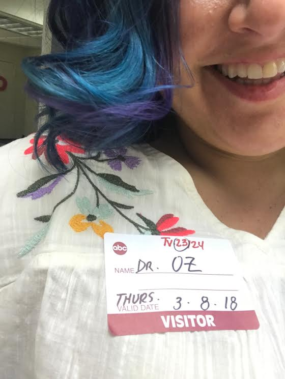 I had to check in through security at the front where I always greeted all of the guests. It was weird and wonderful to be the visitor this time. I made sure to wear the name tag just in case anyone asked me to do any work that day.