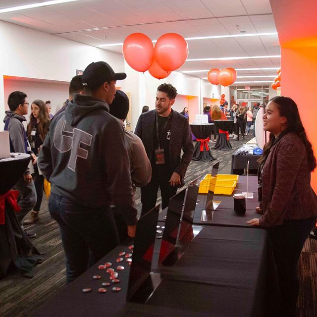 Attendees were able to explore the village during the intermission at the #tedxgrandcanyonuniversity event. The village had numerous booths from GCBC to the Phoenix Art Museum!
