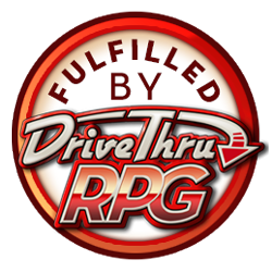 PDF fulfillment through our partnership with DriveThruRPG!