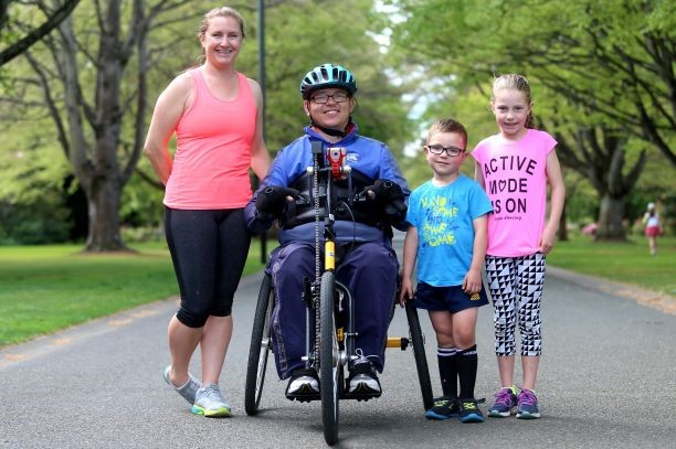 John Langford - Pictured with his family is one of the newbies attending his first New York Marathon so we thought we should know a little bit more about him.