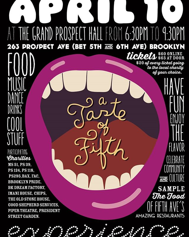 A Taste of Fifth is right around the corner! Get your tickets while you still can and come see your favorite 5th Avenue businesses in action. Link for tickets in our bio! #gristmill #gristmillbk #parkslope #brooklyn#brooklyneats  #eeeeeats #f52grams#yahoofood #eater #feedfeed #chefsfeed#foodintheair #foodandwine#chefsofinstagram #foodporn #newforkcity#nytimes #foodandwine  #eatupnewyork #instafood#farmtotable #nyceats#eaterny #buzzfeast #nyceeeeeats#grubshotsnyc #eatingnyc