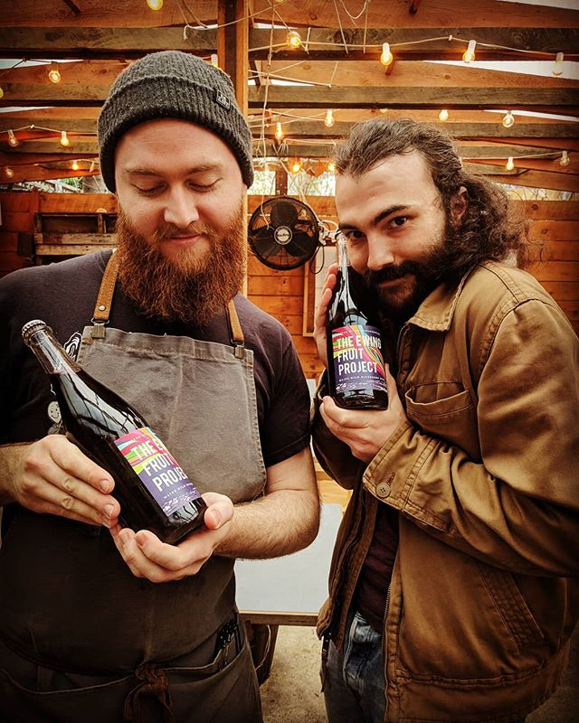 Zach and Colin are weirdly excited about the new Wild Blueberry Wine collaboration from Oyster River Winegrowers and Ewing Fruit Company. How about ew?  #gristmill #gristmillbk #parkslope #brooklyn#brooklyneats  #eeeeeats #f52grams#yahoofood #eater #feedfeed #chefsfeed#foodintheair #foodandwine#chefsofinstagram #foodporn #newforkcity#nytimes #foodandwine  #drinkupnewyork pnewyork #instafood#farmtotable #nyceats#eaterny #buzzfeast #nycdrinks #grubshotsnyc #drinkingnyc #naturalwine