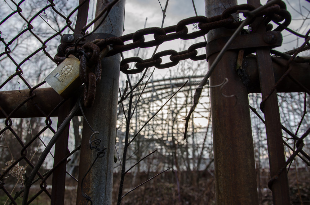 Remnants of Geauga Lake