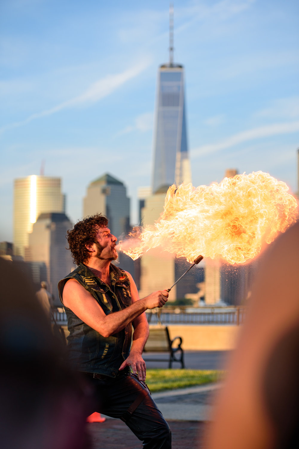 The skyline firebreather [June 11]